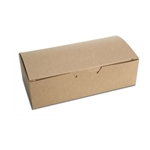 1 lb. Kraft Rectangle-Fudge Boxes