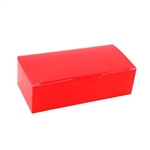 1 lb. Red Rectangle-Fudge Boxes