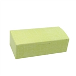 1 lb. Yellow Linen Rectangle-Fudge Boxes