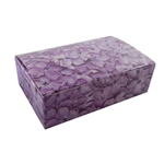 1-1/2 lb. Lilacs Pattern Fudge Boxes