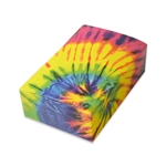 1-1/2 lb. Tie Dye Pattern Chocolate Boxes
