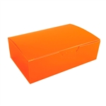1-1/2 lb. Tangerine Orange Chocolate Boxes