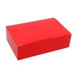 1-1/2 lb. Red Fudge Boxes