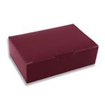 1-1/2 lb. Burgundy Fudge Boxes