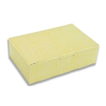 1-1/2 lb. Yellow Linen Fudge Boxes
