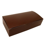 2 lb. Fudge Boxes - Brown