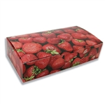 2 lb. Fudge Boxes - Strawberry Pattern