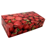 3 lb. Fudge Boxes - Strawberry Pattern