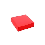 Chocolate Box Covers-3 oz.-1 Layer-Red