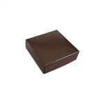 Chocolate Box Covers-3 oz.-1 Layer-Brown