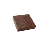 Chocolate Box Covers-3 oz.-1 Layer-Valentine Heart