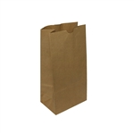 12 lb Kraft Regular Paper Grocery Bags