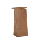 1/2# Kraft Coffee - Cookie Bags with Tin Ties