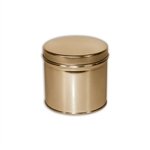 1/2 Quart Gold Tins