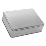 "8"" x 10"" Platinum Tin Boxes"