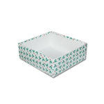 16 oz. Candy Box 2 Layer Bases - Holly Berries