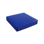 Chocolate Box Covers-8 oz.- Royal Blue