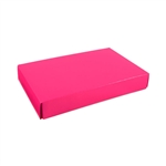 1/2 lb. Box Covers-1 Layer Raspberry Pink