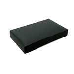 Chocolate Box Covers-1/2 lb. Rectangle-1 Layer- Black