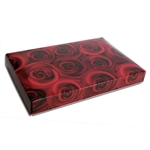 1 lb. Box Covers-1 Layer-Dark Roses