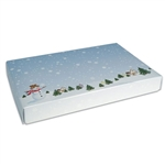 1 lb. Box Covers-1 Layer-Winter Scene
