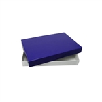 1 lb. Rigid Set Up Boxes-Cover & Base Sets-Royal Blue