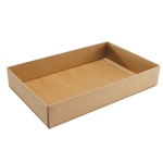 1 lb. Box Bases-Deep Natural Kraft