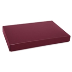 1 lb. Box Covers-1 Layer-Burgundy
