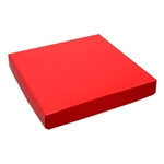 16 oz. Square Red Chocolate Box Covers