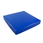 16 oz. Square Royal Blue Chocolate Box Covers