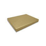 2 lb. Rigid Set Up Boxes-Cover & Base Sets-Gold