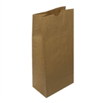 16 lb Kraft Regular Paper Grocery Bags