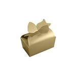 Small Gold Bow Favor Boxes