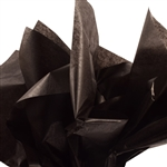 Dry Waxed Tissue Paper Black