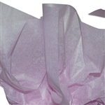 "Lavender 2 Sided Waxed Tissue Paper - 18"" x 24"" Sheets"
