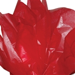 "Red 2 Sided Waxed Tissue Paper - 18"" x 24"" Sheets"