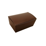 1/4 lb. Brown Ballotin Boxes