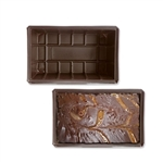 1-1/2 lb. plastic tray-1 piece fudge-heat stable