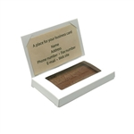 White Chocolate Business Card Boxes