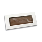 Large Chocolate Bar Box with Window
