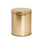 1 Quart Gold Tins