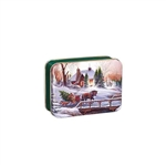 "3"" x 5"" Christmas Tin Boxes"