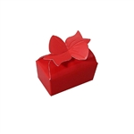 Small Red Bow Favor Boxes