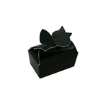 Black Small Bow Boxes for Favors and Truffles