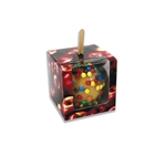 Apple Patterned Candy Apple Boxes with Window
