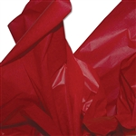 "Dry Waxed Red Tissue Paper - 20 x 30"" - 480 Sheets per Ream"