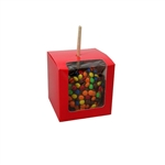 Red Candy Apple Boxes with Window
