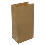20 lb Kraft Regular Paper Grocery Bags