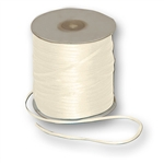 "Offray Dainty Double Face Satin Ribbon Antique White - 1/16"" x 50 Yards, or 1/8"" x 30 or 500 Yards"