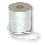 "Offray Dainty Double Face Satin Ribbon White - 1/16"" x 50 Yards, or 1/8"" x 30 or 500 Yards"